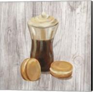 Coffee Time I on Wood Fine-Art Print