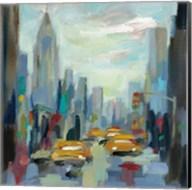 Manhattan Sketches I Fine-Art Print