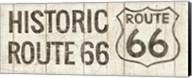 Flea Market Road Sign Route 66 Fine-Art Print