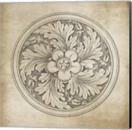 Rosette II Neutral Fine-Art Print
