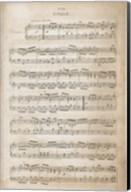 Sheet of Music IV Fine-Art Print