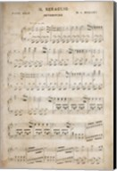 Sheet of Music II Fine-Art Print