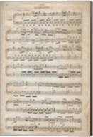 Sheet of Music III Fine-Art Print