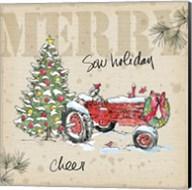 Country Christmas III Fine-Art Print