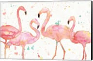 Flamingo Fever I Fine-Art Print