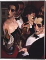 Champaign Waiter Fine-Art Print