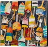 Buoy Collage Square Fine-Art Print