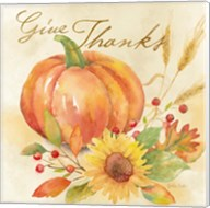 Welcome Fall - Give Thanks Fine-Art Print