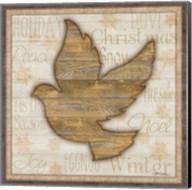 Rustic Peace Dove Fine-Art Print
