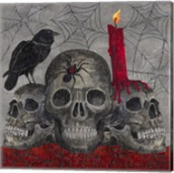 Something Wicked 3 Skulls Fine-Art Print