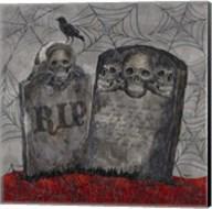 Something Wicked Tombstones Fine-Art Print