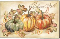 Watercolor Harvest Welcome Fall Fine-Art Print