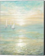 Sunrise Sailboats I Fine-Art Print