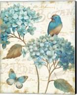 Blue Garden III Fine-Art Print