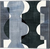 Geometric Deco I BW Fine-Art Print