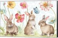 Spring Softies Bunnies I Fine-Art Print