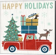 Holiday on Wheels III Fine-Art Print