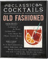 Classic Cocktail Old Fashioned Fine-Art Print
