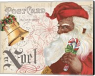 Antique Holiday II Santa Fine-Art Print