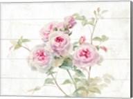 Sweet Roses on Wood Fine-Art Print
