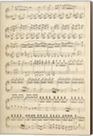 Musical Notes I Fine-Art Print