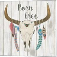 Bohemian Rising I no Border Born Free Fine-Art Print