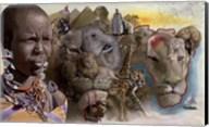 Africa Lions Fine-Art Print