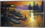 Boy Fishing Fine-Art Print