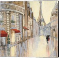 Touring Paris Couple III Fine-Art Print