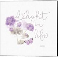 Sunny Day VI Purple Fine-Art Print