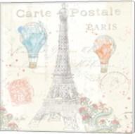 Lighthearted in Paris V Fine-Art Print