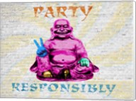 Party Responsibly Fine-Art Print