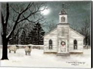 I Heard the Bells on Christmas Day  - Darker Sky Fine-Art Print