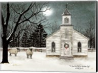 I Heard the Bells on Christmas Day  - Darker Sky Fine-Art Print