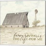 Farm Living Fine-Art Print