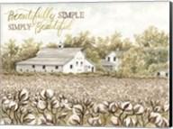 Beautifully Simple Cotton Farm Fine-Art Print