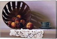 Peaches and a Cup Fine-Art Print