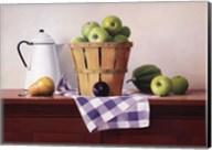 Basket of Green Apples Fine-Art Print