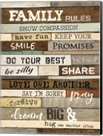 Family Rules Fine-Art Print