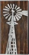 Metal Windmill Fine-Art Print