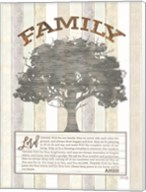 Family Prayer Tree Fine-Art Print