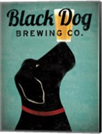 Black Dog Brewing Co v2 Fine-Art Print