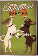 Double Chihuahua Los Angeles Fine-Art Print