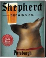 German Shepherd Brewing Co Pittsburgh Black Fine-Art Print