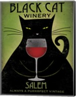 Black Cat Winery Salem Fine-Art Print