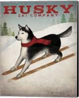 Husky Ski Co Fine-Art Print