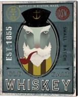 Fisherman I Old Salt Whiskey Fine-Art Print
