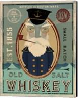 Fisherman III Old Salt Whiskey Fine-Art Print