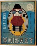 Fisherman IV Old Salt Whiskey Fine-Art Print