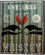 Old Salt Whiskey Love Birds Fine-Art Print